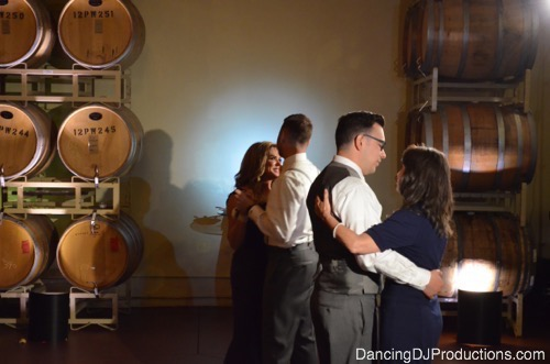 Mother and Son Dance at ponte winery